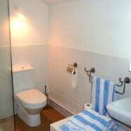 The shower rooms