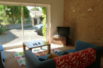 The cosy TV area